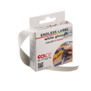 COLOP e-mark White Glossy Label