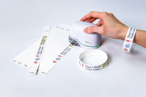 COLOP e-mark wristbands