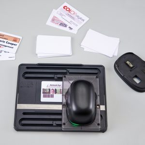 Printing Business Cards with the Multiline Printing Tool