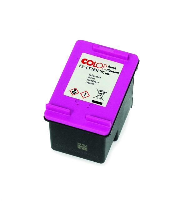 COLOP e-mark black pigment ink cartridge